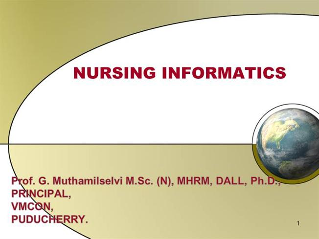 nursing informatics 2 essay Free essay: informatics nursing combines information technology and nursing science in an effort to process patient-related data and assist in making.