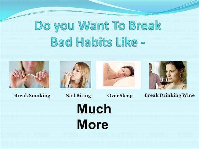 """how to change bad to good Breaking bad habits habits can also develop when good or enjoyable events trigger the brain's """"reward"""" centers bad habits may be hard to change."""