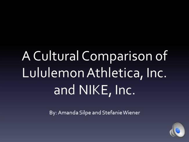 comm424 project nike and lululemon authorstream. Black Bedroom Furniture Sets. Home Design Ideas