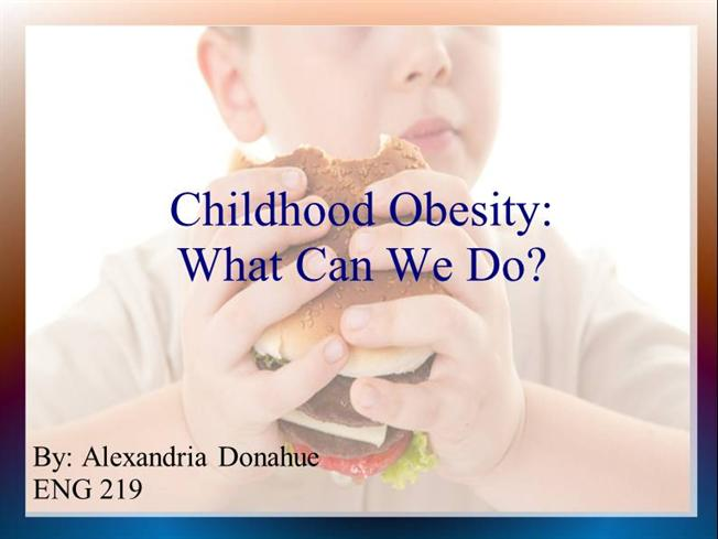 Project 3 powerpoint authorstream for Childhood obesity powerpoint templates