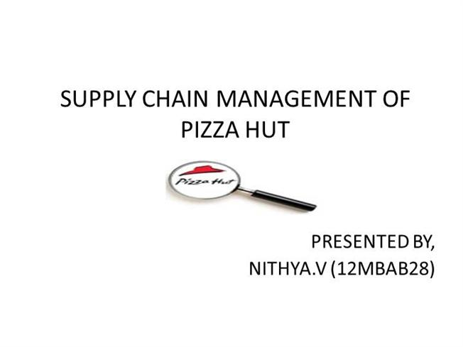 kfc pizzahut supply chain Brands, parent company to taco bell, kfc, and pizza hut, may bring in billions   new initiative uses barcode labeling to fortify food safety and the supply chain.
