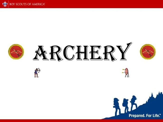 Archery merit badge authorstream for Boy scout powerpoint template