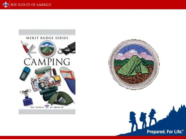 Camping merit badge eagle authorstream for Eagle scout powerpoint template