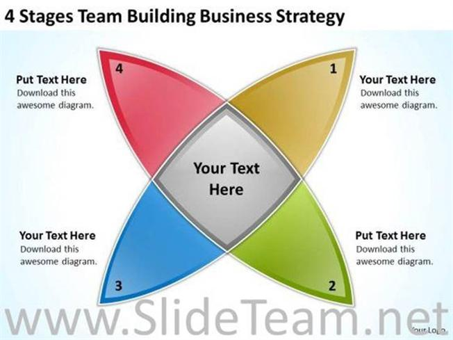 team building business strategy powerpoint slides
