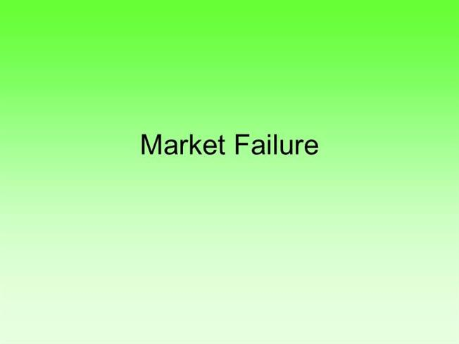 types pf market failure 20% of industrial consumers adopted a new energy efficiency software tool  ( though our project focuses on compressed air, lightapp's software works for all  types of industrial  capital market failures and spillovers.