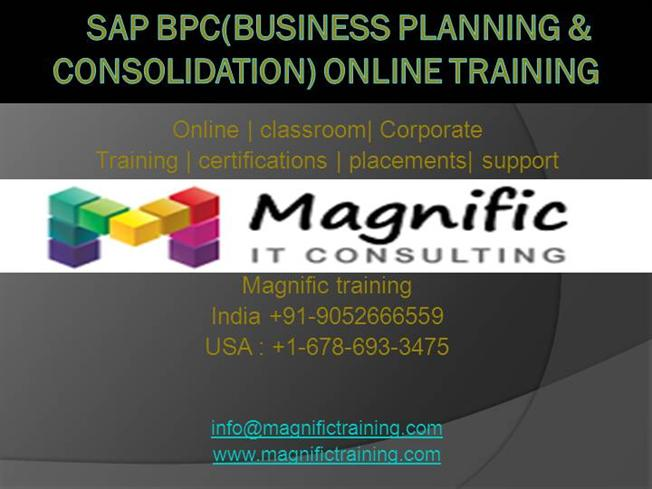 SAP Certified Application Associate - SAP Business Planning and Consolidation 1x