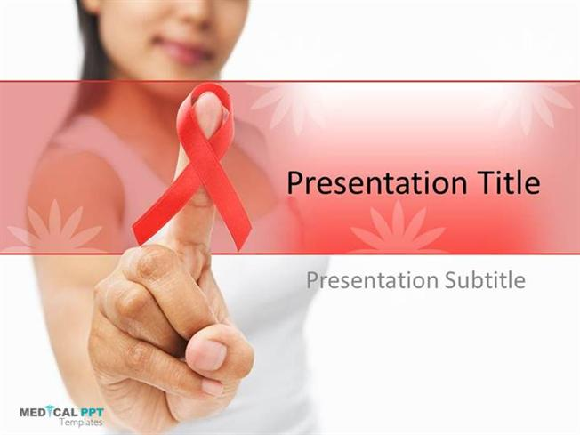 cancer and hiv powerpoint templates