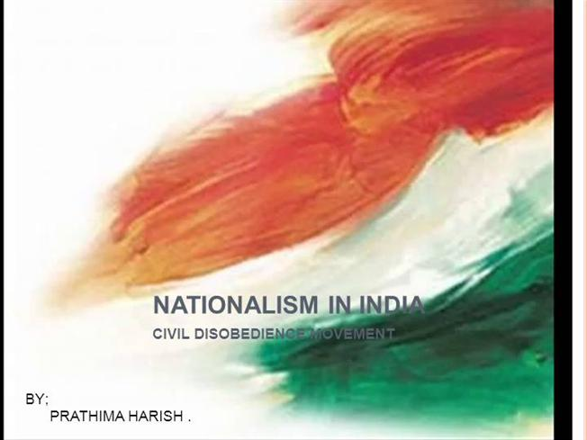 nationalist movements in india
