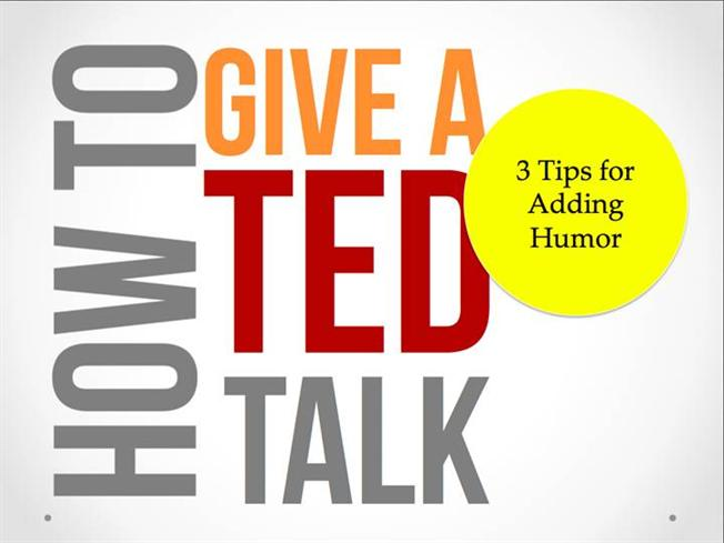 how to give a ted talk authorstream. Black Bedroom Furniture Sets. Home Design Ideas