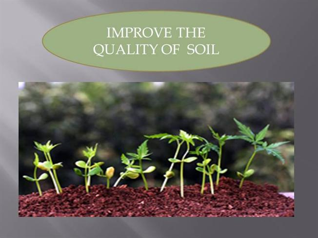 Methods to improve the soil quality authorstream for Soil quality pdf