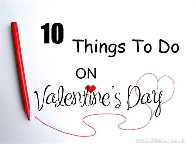 Funny things to do on valentines day