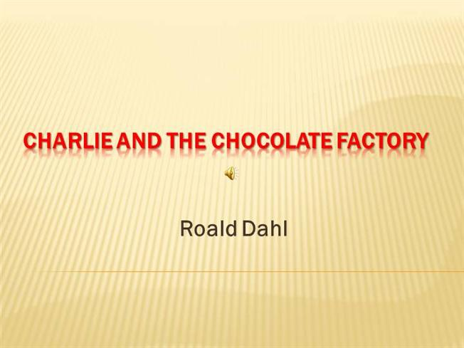Charlie And The Chocolate Factory Book Download For Ipad