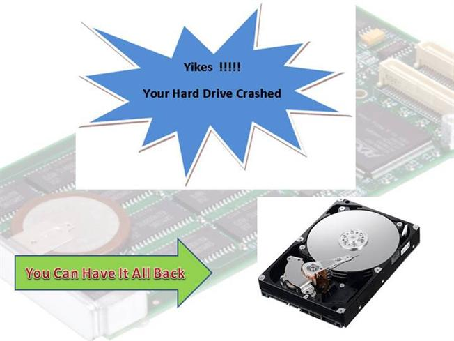 Recover data from hard disk
