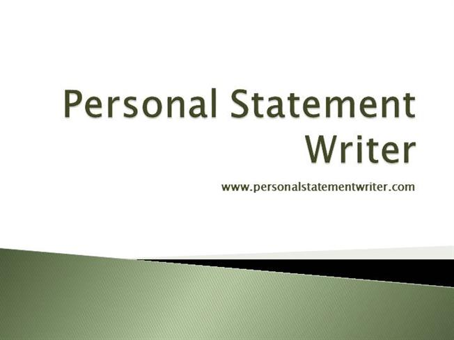 Professional personal statement writers path