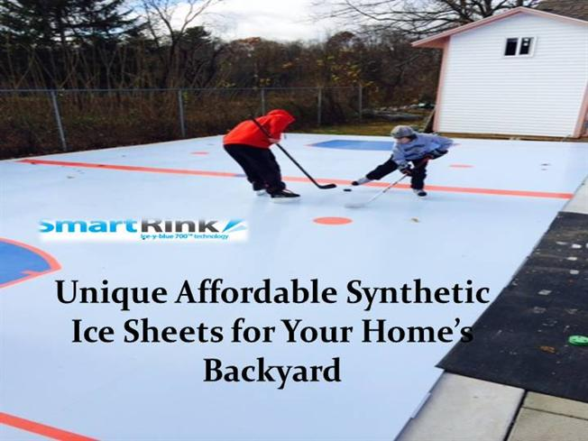 Amazing Unique Affordable Synthetic Ice Sheets For Your Homeu0027S Backyard  |authorSTREAM