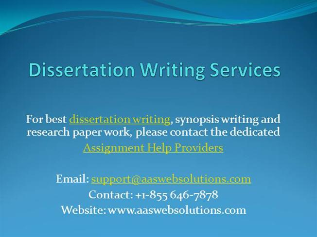 How To Write Synopsis For Dissertation