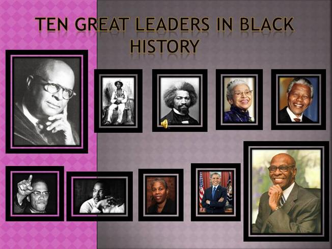 black history power point presentation