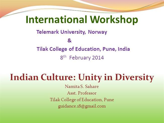 essay on unity in diversity in indian society
