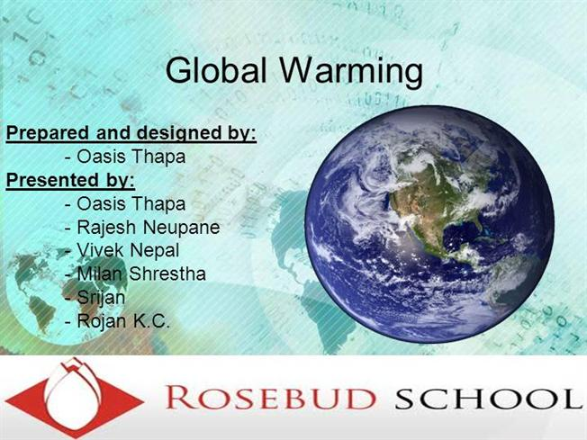 Project Report on Global Warming