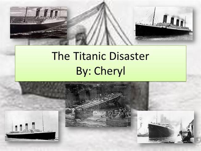 the titanic disaster essay On april 15, 1912, rms titanic, with 2,200 persons aboard, struck an iceberg and sank to the bottom of the atlantic ocean on the night of the disaster.
