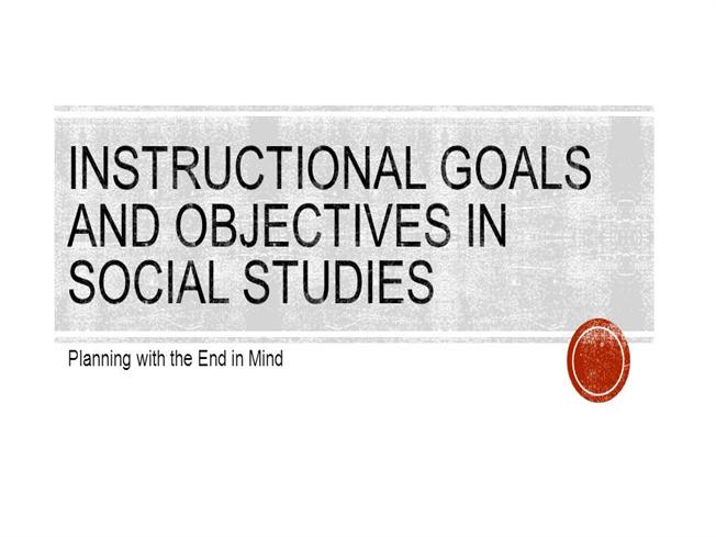 goals of social studies essay (exam) learning goal 2: to understand the role of theory in the social sciences   understanding to fundamental theoretical concepts (essay exams and class.