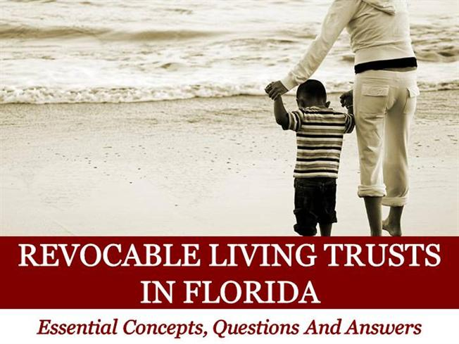 Revocable Living Trusts Essential Concepts Questions And Answer Au