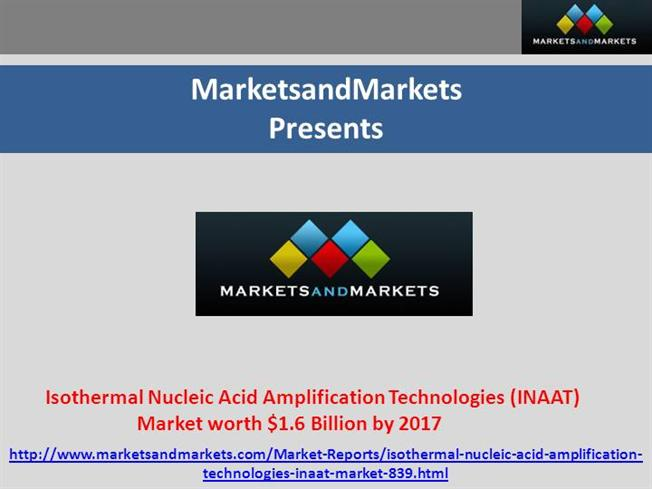 nucleic acid isothermal amplification technologies a review pdf