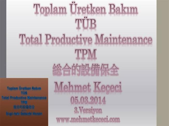 total productive maintenance pdf in tamil