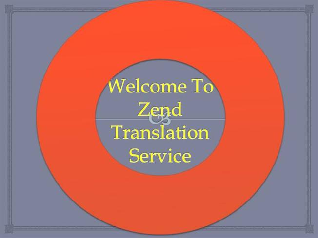 welcome to zend translation service authorstream