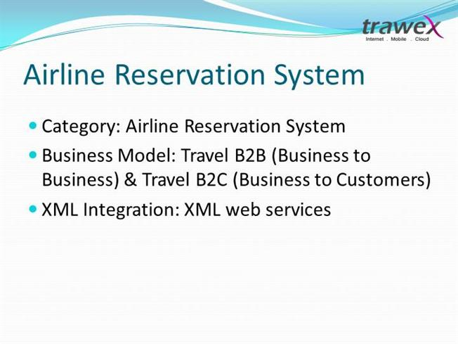 Airline Reservation System Website Templates