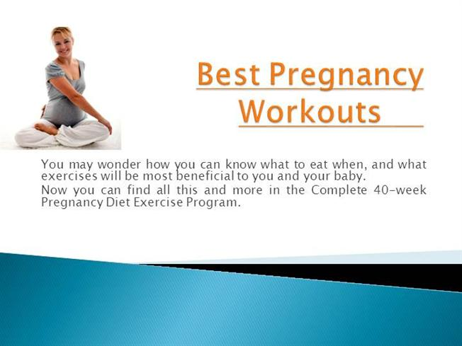 Best Pregnancy Workouts |authorSTREAM