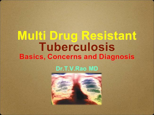 multidrug resistant tuberculosis essay In 2006, approximately half a million new cases of multidrug resistant tuberculosis emerged in the worldchina and india are estimated to carry 50% of the global burden of cases, and the russian federation is estimated to carry a further 7.