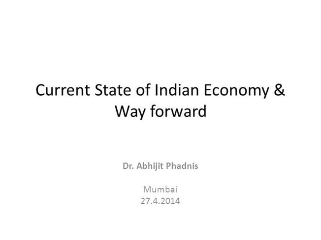 current state of indian economy New delhi, may 31 (reuters) - the indian economy grew 77 percent   however, economists expect growth to be robust in the current financial year   which hit the southern state of kerala a few days earlier than normal,.