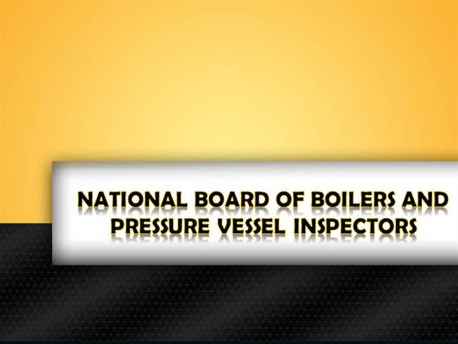 national board of boilers and pressure