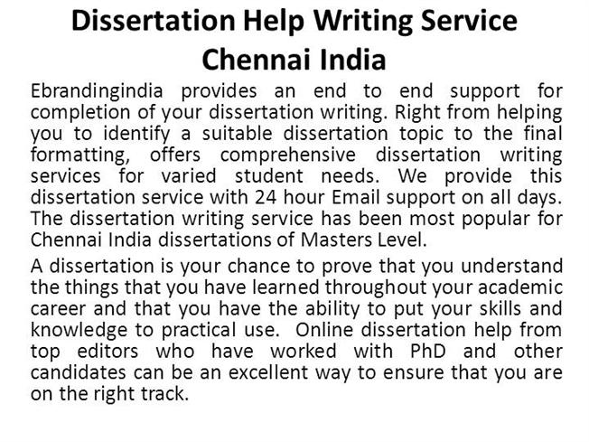 Dissertation Writing Services, UK Dissertation Help