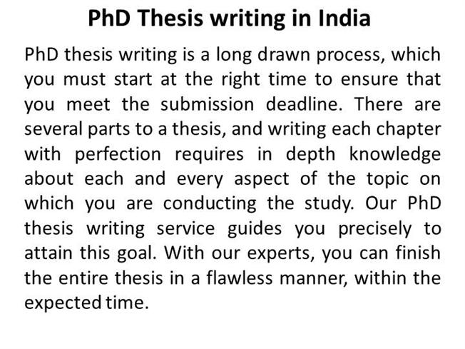 who to write a phd thesis We need to step out beyond the safety of footnotes and the words of big-name scholars to reach a level of academic independence.