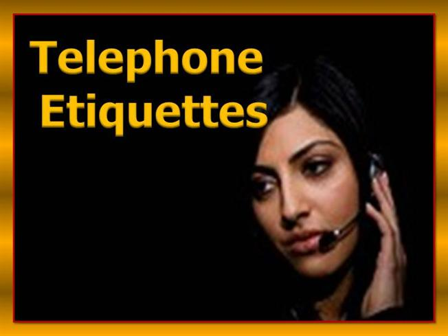Office Manners And Etiquettes Office Etiquette Telephoning