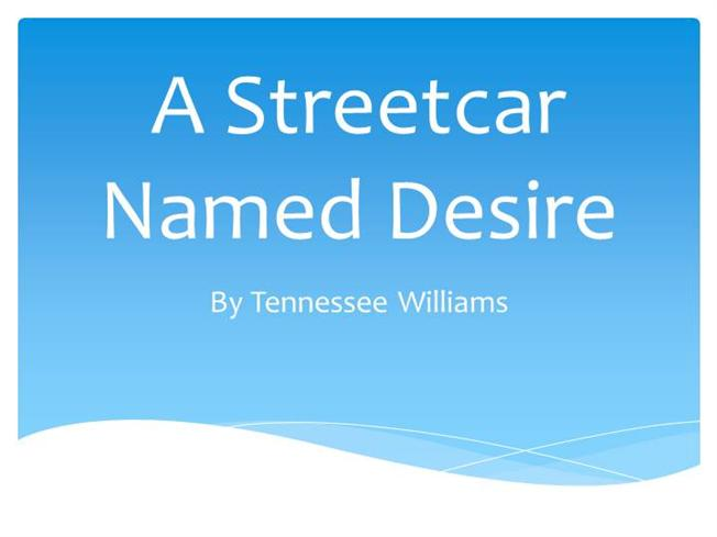 reality versus illusion in a streetcar named desire by tennessee williams Reality vs illusion essaysin tennessee william's' play a streetcar named desire, a major theme that is present is the desire to escape in the play, williams clearly tends to favor the real world of stanley and stella kowalski, than the imaginary world of the unfortunate blanche dubois.