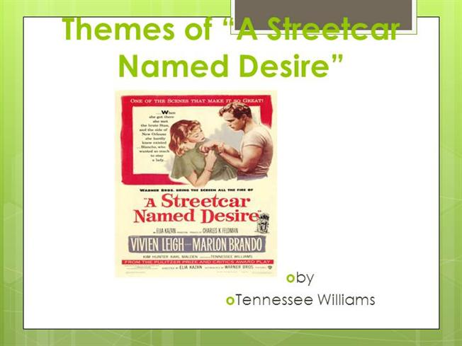 motifs connected with balance from a streetcar named desire Explore the ways in which a feminist critic might interpret tennessee williams a streetcar the play a streetcar named desire by would be interested in the extent to which power relations between men and women in the private sphere reflect the balance of power in the.