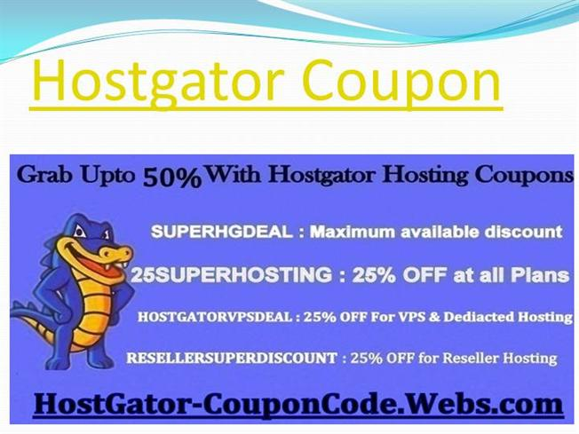 Hostgator maximum discount coupon