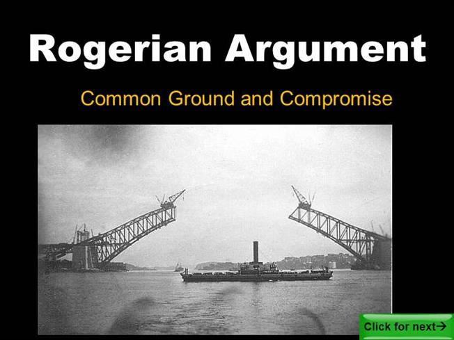 Sample rogerian argument essay