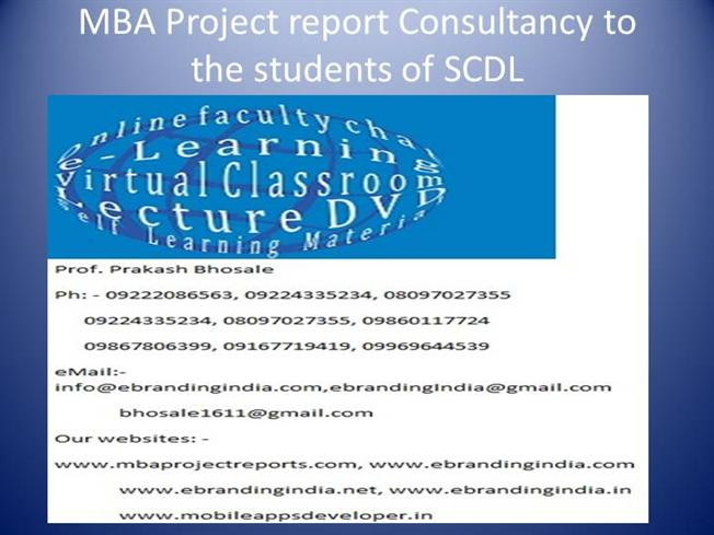 mba project report Mba projects download free finance 2018 2019 can you provide me the list of the mba projects topics in finance.