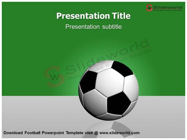 download football powerpoint template slide world authorstream. Black Bedroom Furniture Sets. Home Design Ideas