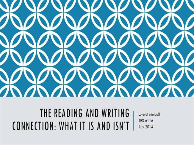 reading writing connection 348 the reading/writing connection: a selected annotated bibliography the references appended to each chapter of this book include a wide array of relevant resources on the reading/writing connection.