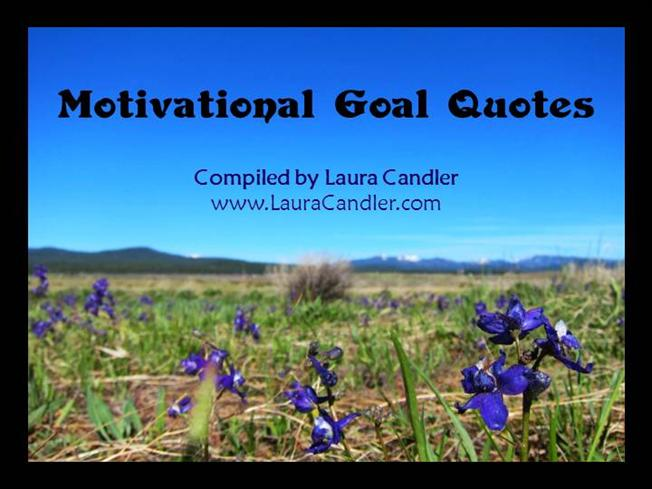 motivational quotes for setting goals authorstream