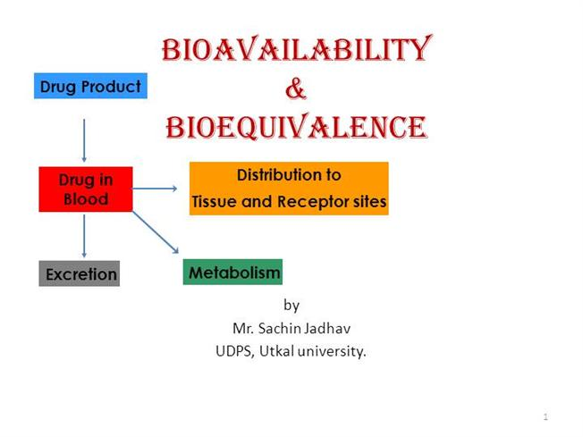 bioavailability and bioequivalence studies Successfully design, implement, analyse and report bioavailability / bioequivalence studies.