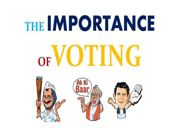 the importance of voting Why presidential primaries are important, because it's a serious problem that most of us don't bother to vote in them.
