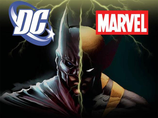 superheroes dc vs marvel  which side are you