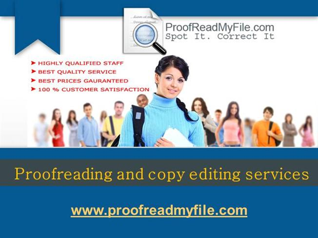 Academic Proofreading Services with a 100% Satisfaction