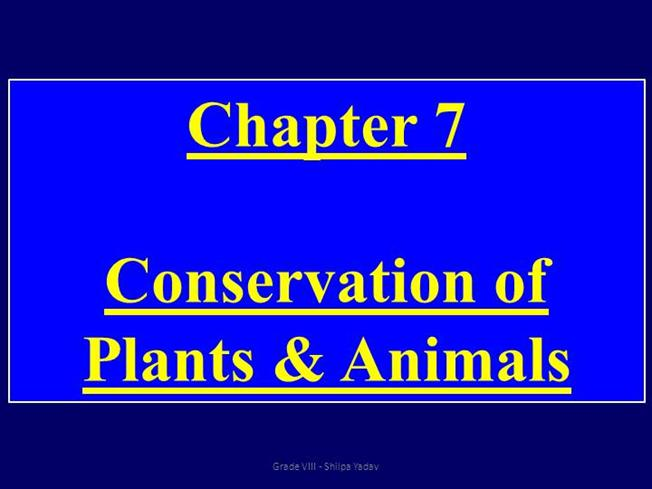 Conservation of flora and fauna essays on poverty